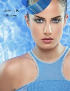 Lebanese Makeup Artist Hala Ajam
