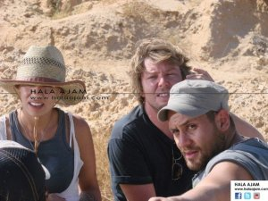 Yehya during Haifa's Shoot