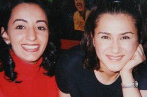 Hala Ajam and a model