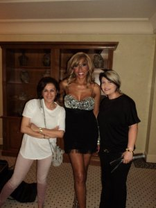 With Cathy Getta, before David Getta's performance in Beirut ! 2011
