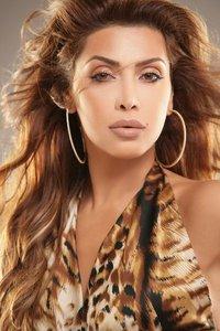 Nawal El Zoghbi makeup by the Lebanese makeup artist Hala Ajam