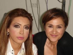 Nawal El Zoghbi and Hala Ajam