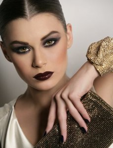 atistic make up by Hala Ajam