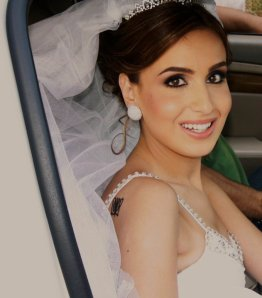 Bride's make up by Hala Ajam 1