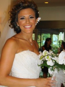 Bridal make up by the Lebanese make up artist Hala Ajam
