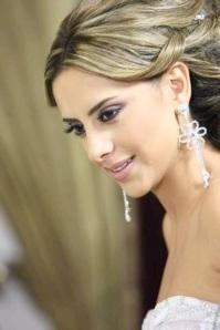 Makeup by the Lebanese makeup artist Hala Ajam!