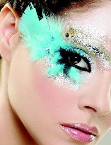 Artistic make up by the Lebanese make up artist Hala Ajam!