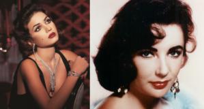 Elizabeth Taylor Look by Hala Ajam
