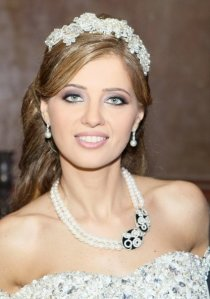 Makeup by the Lebanese makeup artist Hala Ajam!