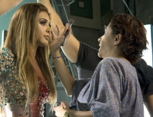 Nawal El Zoghbi Make Up by Hala Ajam