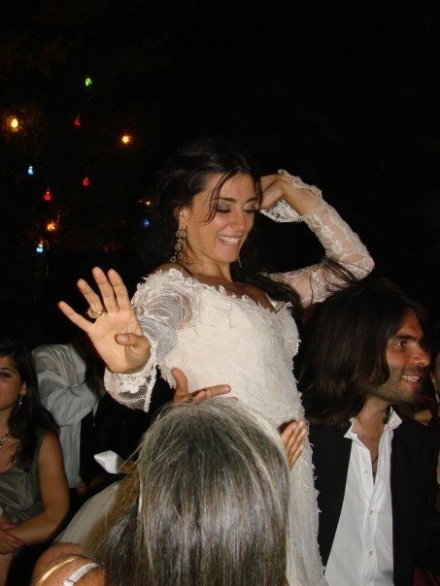 Nadine Labaky at her wedding Make Up by Hala Ajam