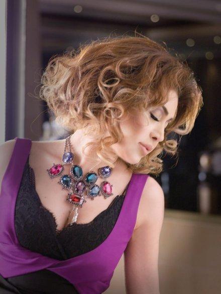 Nawal El Zoghbi makeup by Hala Ajam