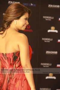 Shirine Abed El Wahab @ Murex d'or 2011 makeup by Hala Ajam