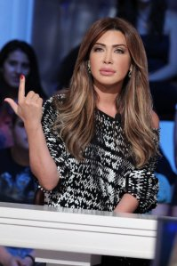 Nawal El Zoghbi @ Talk of the town makeup by Hala Ajam