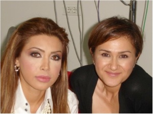 Nawal El zoghbi and Hala Ajam