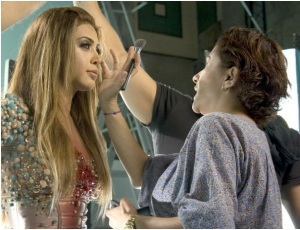 Nawal El Zoghbi music video Makeup by Hala Ajam