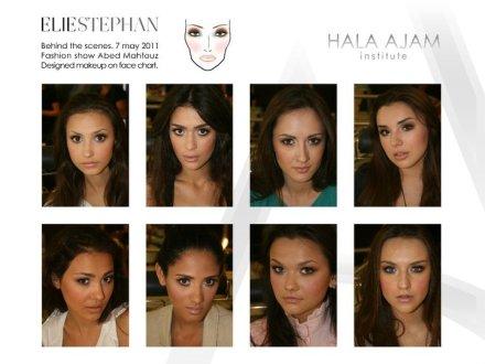 Makeup by Elie Estephan Institut Hala Ajam