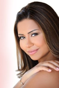Sherine Abed El Wahab makeup by The Lebanese makeup artist Hala Ajam