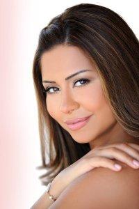 Sherine Abed El Wahab makeup by The Lebanese makeup artist Hala Ajam