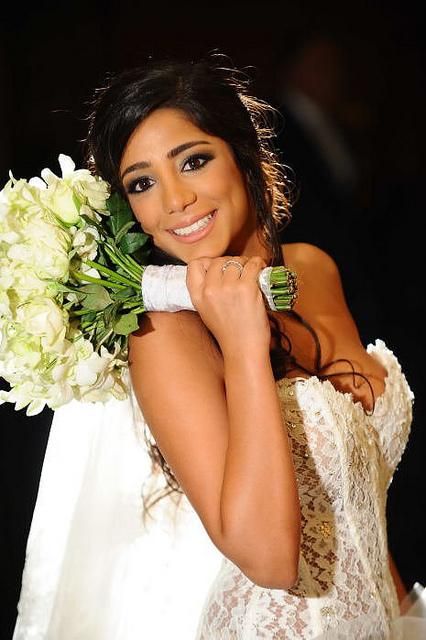 Bridal makeup by Hala Ajam