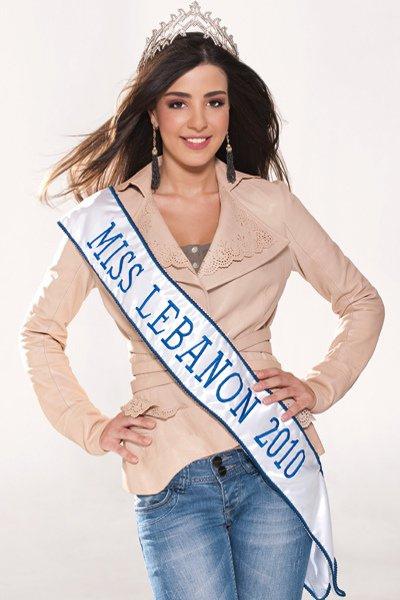 Rahaf Abdallah Miss Lebanon 2010 makeup by Hala Ajam