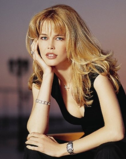 Claudia Schiffer makeup by Hala Ajam