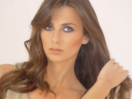 Clemence Achkar Miss Lebanon 1998 makeup by Hala Ajam