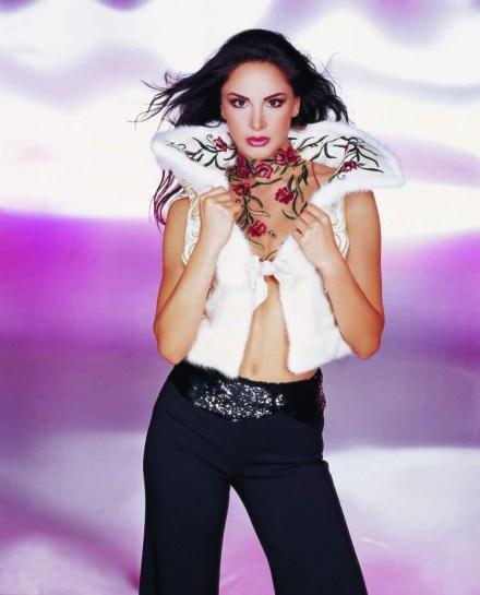 Joelle Behlok Miss Lebanon 1997 makeup by Hala Ajam