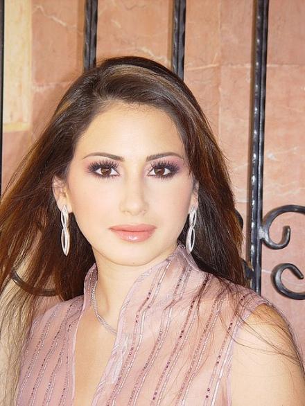 Marie Jose Hnein Miss Lebanon 2003 makeup by Hala Ajam
