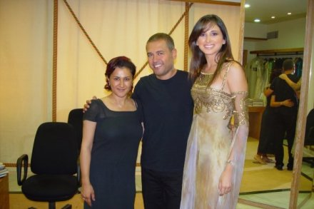 Hala Ajam and Elie Saab and Marie jose Hneine
