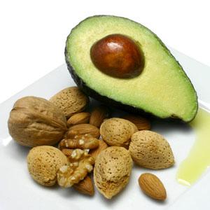 Nuts & oil & avocado