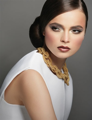 Makeup by Arab makeup artist Hala Ajam