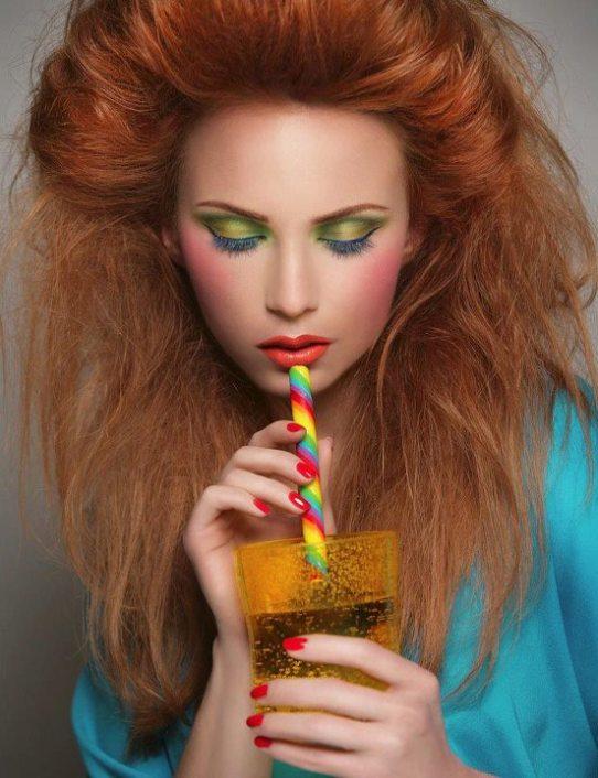 Makeup by the Lebanese Makeup artist Hala Ajam