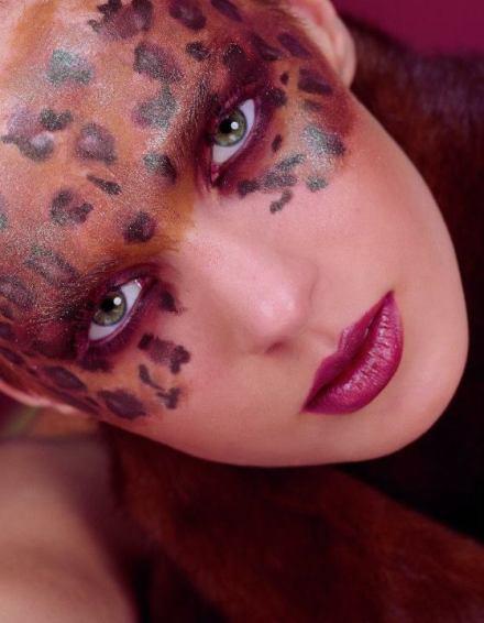 Purple Color Makeup