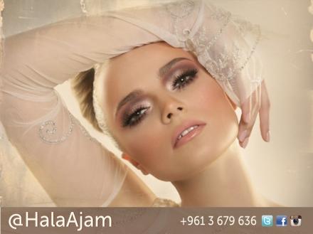 SUBTLE GLAMOUR, Make up Campaign, by Lebanese Makeup Artist Hala Ajam