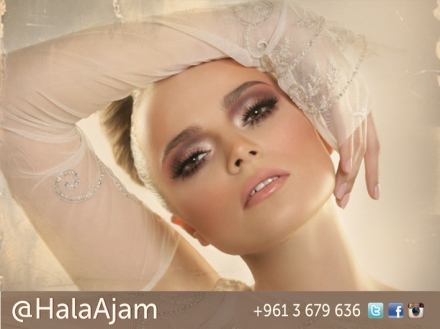 SUBTLE GLAMOUR، تألُّق بمنتهى الرقة، الحملة الإعلانية للمكياج، من أخصائية التجميل اللبنانية هالة عجم
