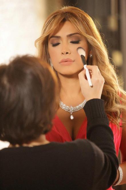 Nawal Al Zoghbi's Makeup Artist Hala Ajam