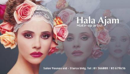 Professional Makeup by Hala Ajam