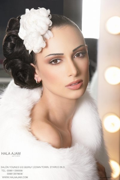 3D Bridal Makeup by Hala Ajam