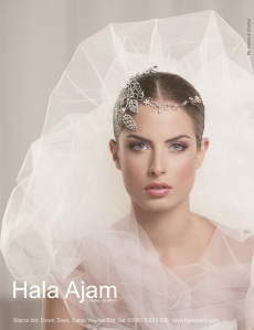 Hala Ajam's Bridal Ad